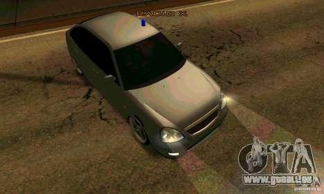 LADA VAZ 21723 Tuning für GTA San Andreas zurück linke Ansicht