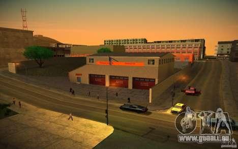 Service d'incendie de HD pour GTA San Andreas deuxième écran