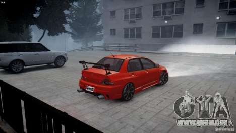 Mitsubishi Lancer Evolution 8 v2.0 für GTA 4 linke Ansicht