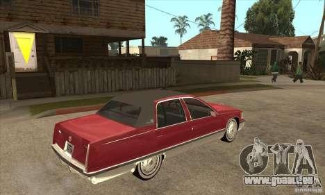 Cadillac Fleetwood 1993 für GTA San Andreas rechten Ansicht