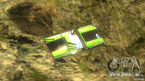 Raptor für GTA San Andreas Rückansicht
