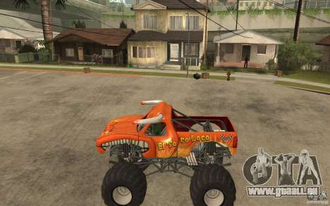 El Toro Loco pour GTA San Andreas laissé vue