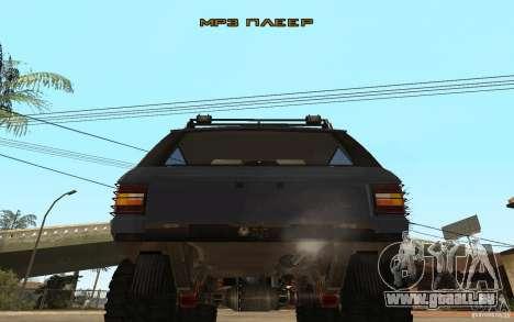 Range Rover Off Road pour GTA San Andreas vue de droite