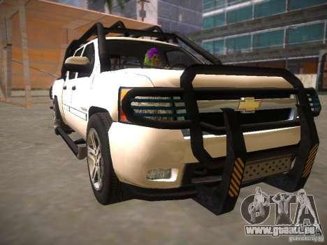 Chevrolet Silverado pour GTA San Andreas