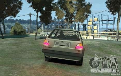 Volkswagen Golf II GTI für GTA 4 rechte Ansicht