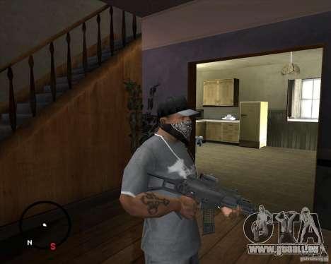 G36C pour GTA San Andreas