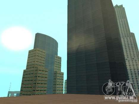 DownTown NEW pour GTA San Andreas troisième écran