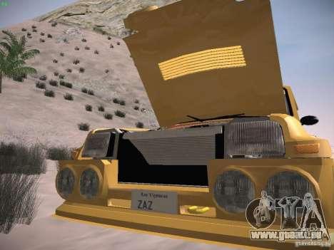 Renault 5 Turbo pour GTA San Andreas vue de côté