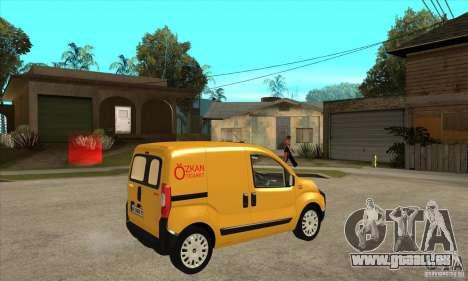 Citroen Nemo 2010 für GTA San Andreas rechten Ansicht