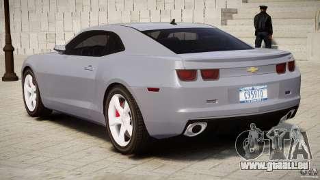 Chevrolet Camaro SS 2009 v2.0 pour GTA 4 est une vue de dessous