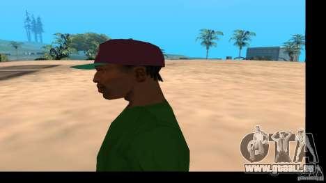 Casquette avec le logo du groupe HIM pour GTA San Andreas quatrième écran