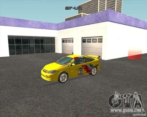 Chevrolet Cobalt SS für GTA San Andreas linke Ansicht