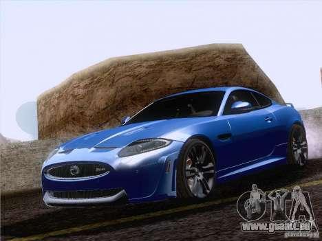Jaguar XKR-S 2011 V2.0 pour GTA San Andreas vue intérieure
