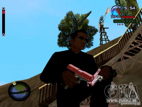 Ice Weapon Pack für GTA San Andreas neunten Screenshot