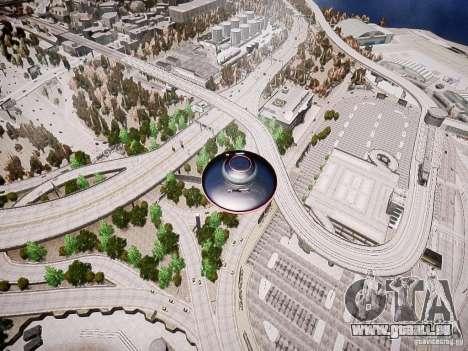 UFO-die erschreckende für GTA 4 linke Ansicht