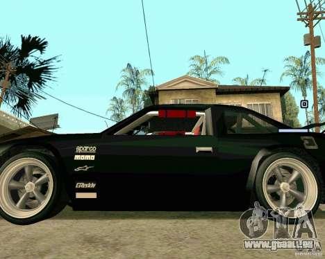 Hotring Racer Tuned pour GTA San Andreas vue de côté