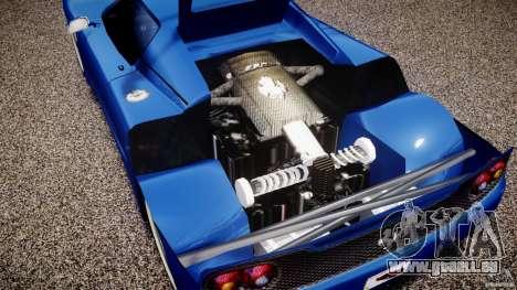 Ferrari F50 Spider v2.0 für GTA 4 Rückansicht
