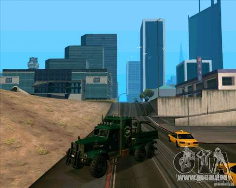 KrAZy Crocodile pour GTA San Andreas laissé vue