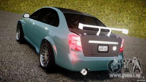 Chevrolet Lacetti WTCC Street Tun [Beta] für GTA 4 hinten links Ansicht