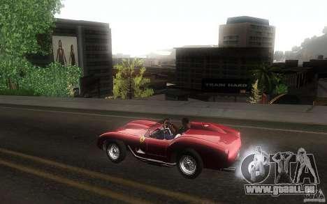 Ferrari 250 Testa Rossa pour GTA San Andreas laissé vue