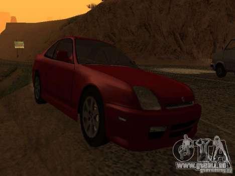 Honda Prelude Sport pour GTA San Andreas vue arrière