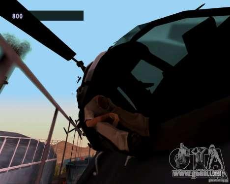 Pilotes des hélicoptères pour GTA San Andreas deuxième écran