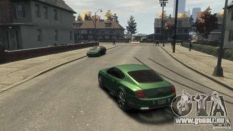 Bentley Continental SS für GTA 4 rechte Ansicht