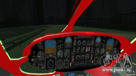 Medicopter 117 für GTA 4 Innenansicht