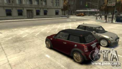 Mini John Cooper Works 2009 für GTA 4 linke Ansicht