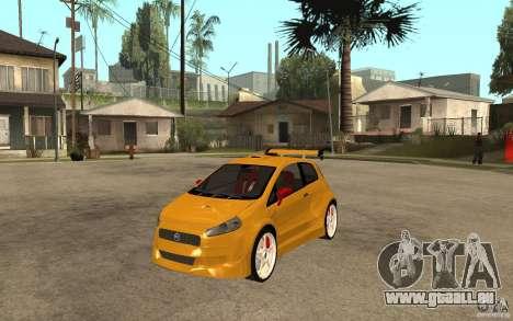 Fiat Grande Punto Tuning für GTA San Andreas