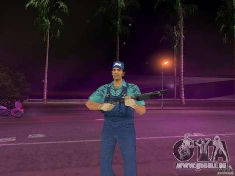 Armes de Pak intérieur pour le quatrième écran GTA Vice City