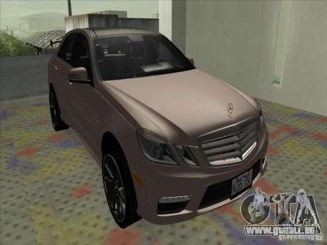 Mercedes-Benz E63 AMG Black Series Tune 2011 pour GTA San Andreas laissé vue