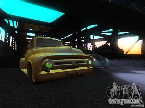 Ford FR 100 pour GTA San Andreas vue de droite