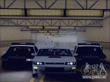 New Police LSPD für GTA San Andreas rechten Ansicht