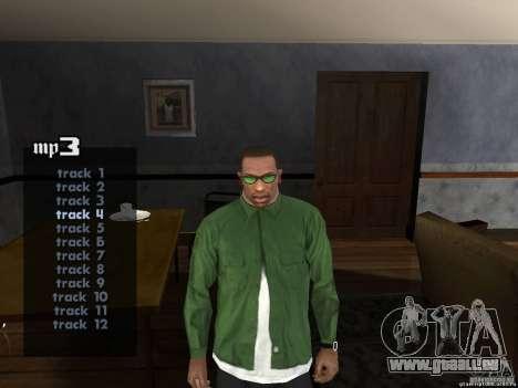 RAP V2.0 pour GTA San Andreas deuxième écran