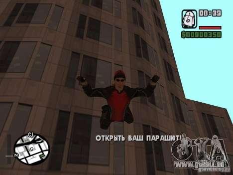 Skydiver für GTA San Andreas fünften Screenshot
