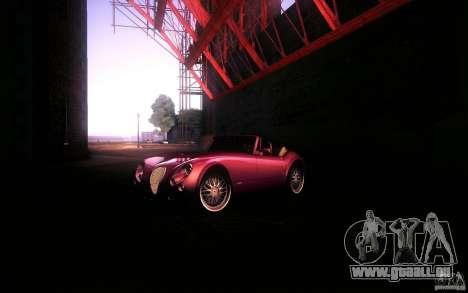 Wiesmann MF3 Roadster pour GTA San Andreas vue de droite