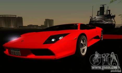 Lamborghini Murcielago für GTA San Andreas Unteransicht