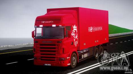 Scania R580 Tandem für GTA 4 rechte Ansicht