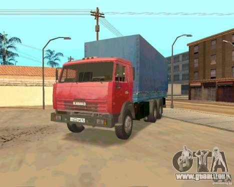 KAMAZ 54115 pour GTA San Andreas