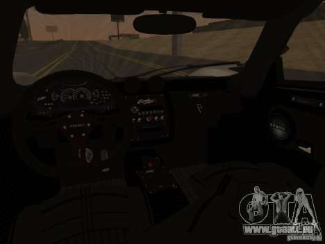 Pagani Zonda Cinque pour GTA San Andreas