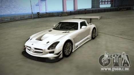 Mercedes-Benz SLS AMG GT3 für GTA San Andreas Innenansicht
