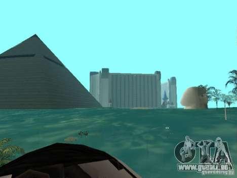 Inondation pour GTA San Andreas deuxième écran