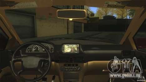 Toyota Corolla G6 Compact E110 EU pour GTA San Andreas vue de droite
