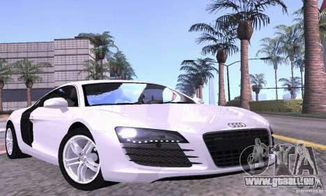 Audi R8 4.2 FSI für GTA San Andreas Innen