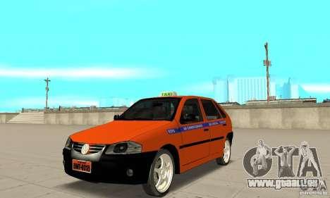 Volkswagen Gol G4 Taxi für GTA San Andreas