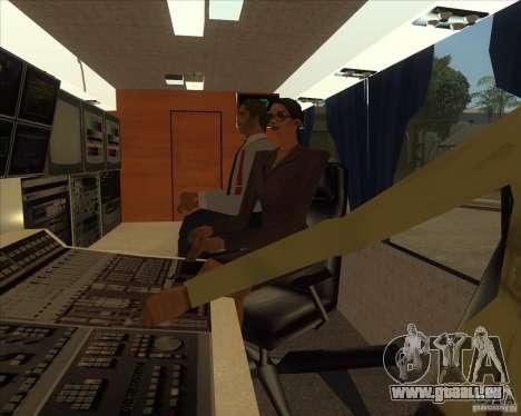 IKARUS 255 Tv für GTA San Andreas zurück linke Ansicht