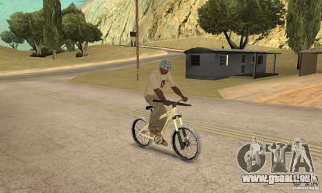 Specialized P.3 Mountain Bike v 0.8 für GTA San Andreas rechten Ansicht