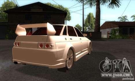 VAZ 2110 WRC für GTA San Andreas rechten Ansicht