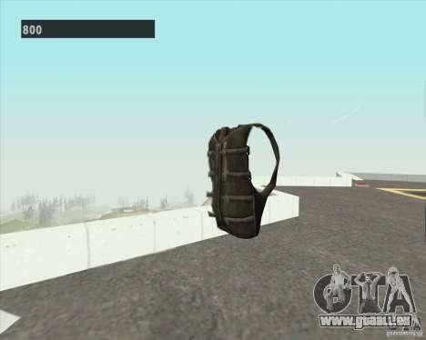 Black Ops Parachute pour GTA San Andreas deuxième écran